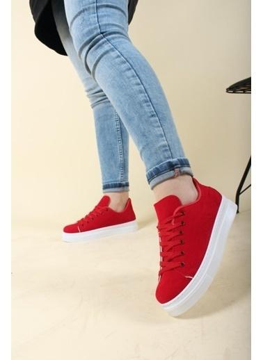 Oksit Sneakers Kırmızı